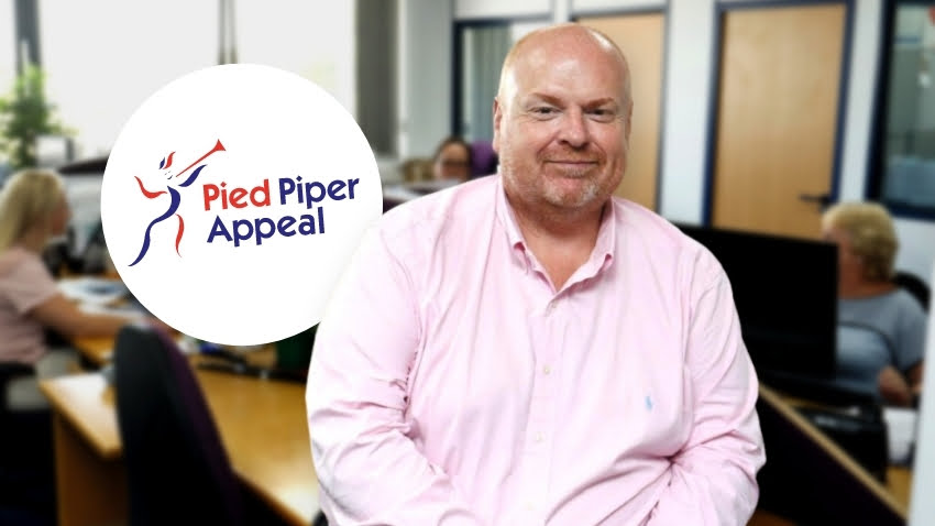 Marcus Gomery Becomes a trustee - Pied Piper Appeal